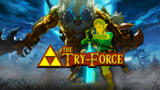 Trial Of The Sword On MASTER MODE - Zelda Try-Force