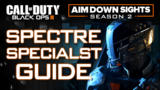 Black Ops III Specialist Spectre Explored - Aim Down Sights