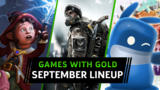 Free Xbox One & Xbox 360 Games With Gold For September 2020 Revealed