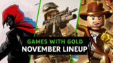 Free Xbox One & Xbox 360 Games With Gold For November 2020 Revealed