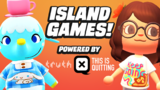 Animal Crossing Island Games with Persia