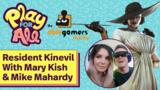 Resident Kinevil With Mary Kish, Mike Mahardy, And Lady Dimitrescu!