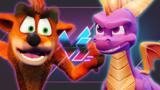 Spyro Reignited Trilogy Vs. Crash Bandicoot N. Sane Trilogy | Versus