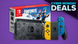 Nintendo Switch Fortnite Bundle Is Back In Stock At Amazon For Cyber Monday
