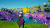 Fortnite's Mysterious Golden Cube Is Now Hovering At The Center Of The Map