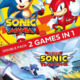 Sonic Mania / Team Sonic Racing Double Pack box art