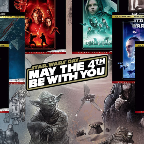 Huge Star Wars 4K Blu-Ray Sale Live Now For May The 4th