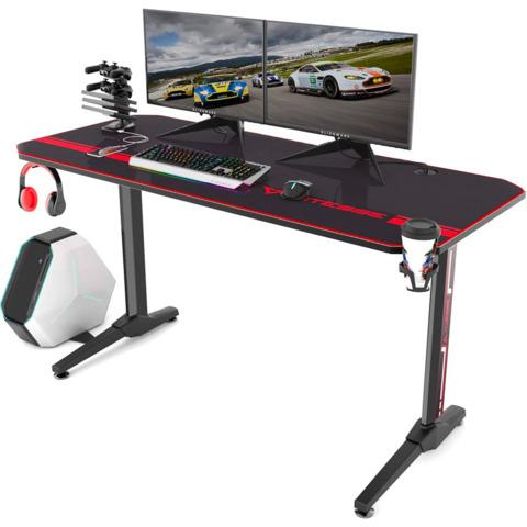 Best Gaming Desk Ultra Wide L Shaped, Are Glass Desks Good For Gaming