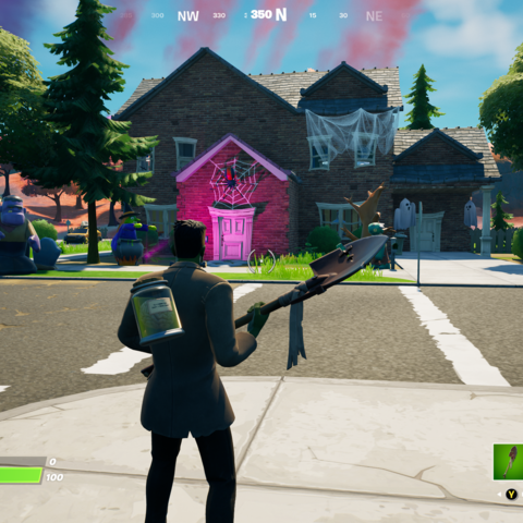 Where To Place Ghostbusters Signs And Deploy A Ghost Trap In Fortnite