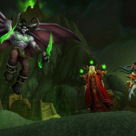 WoW Burning Crusade Classic's Latest PTR Build Is Live, And Removes Ability To Spit On Players